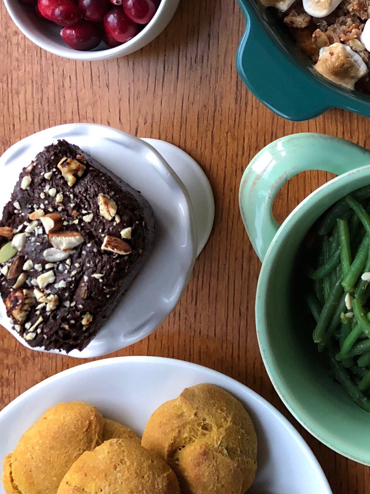 Vegan Brownies with Nuts and Seeds