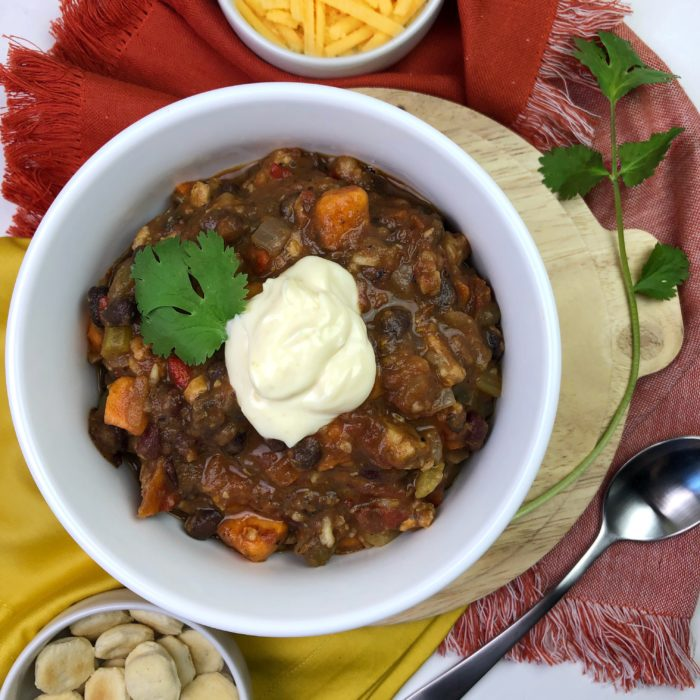 Vegan Chili con Tempeh